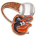 Baltimore Orioles Lapel Pins MLB Baseball Licensed
