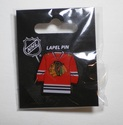 Chicago Blackhawks Lapel Hat Pin NHL Licensed Team