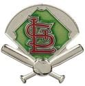 St. Louis Cardinals Lapel Hat Pin MLB Baseball Lic
