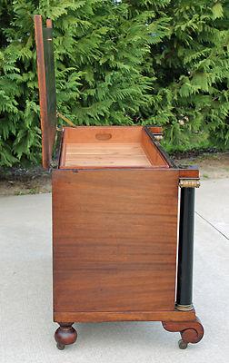 Stantonsburgantiques1 Empire Mahogany Cedar Lined