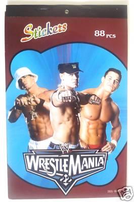WWE Sticker Book