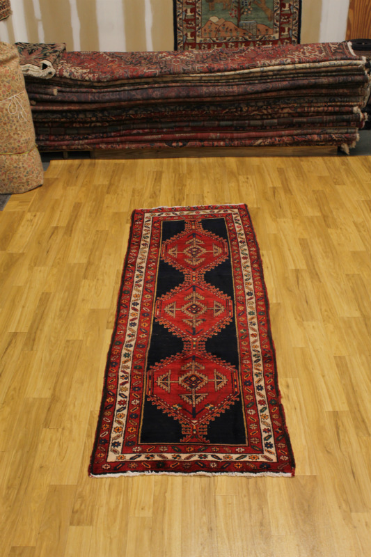 Great Deal Antique Hallway Runner Meshkin Persian Oriental