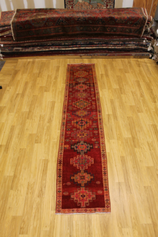 Oversized Narrow Anatolian Runner Turkish Persian Oriental