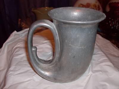Michelleheath Duratale By Leonard Pewter Horn Mug