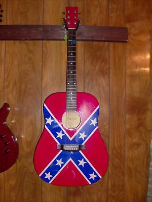 Michelleheath Trinity River Rebel Flag Acoustic Full