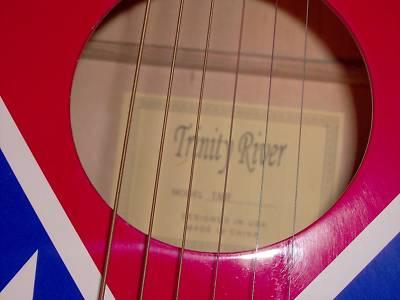 Michelleheath Trinity River Rebel Flag Acoustic Full