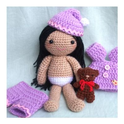 Popular items for amigurumi doll crochet pattern on Etsy