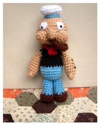 Crochet Pattern Popeye Doll : Amigurumi Cute crochet Toys and Carfts shop : Amigurumi ...