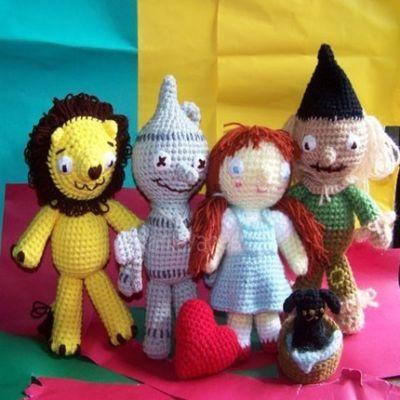 Dorothy Crochet Hexagon Motif - Pink Mambo