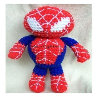 Deadpool Amigurumi Keychain Plüschtier: Amazon.de: Handmade | 400x400