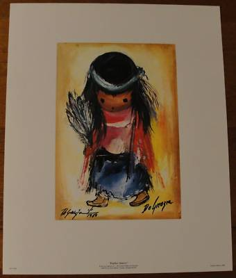 Red Rock Collection Ted Degrazia Limited Edition Print