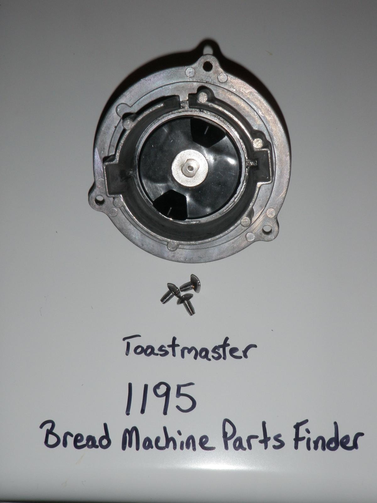 toastmaster bread machine model 1195