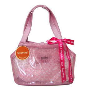 Alex19870813 simply dog summer pink pet dog cat small carrier nwt