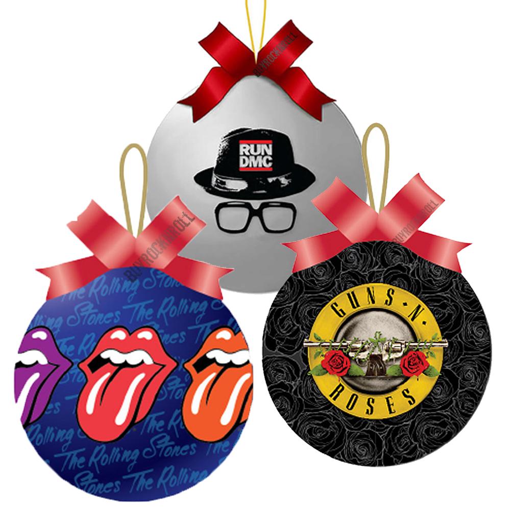 Buyrocknroll Rockin Christmas Balls Rolling Stones Run