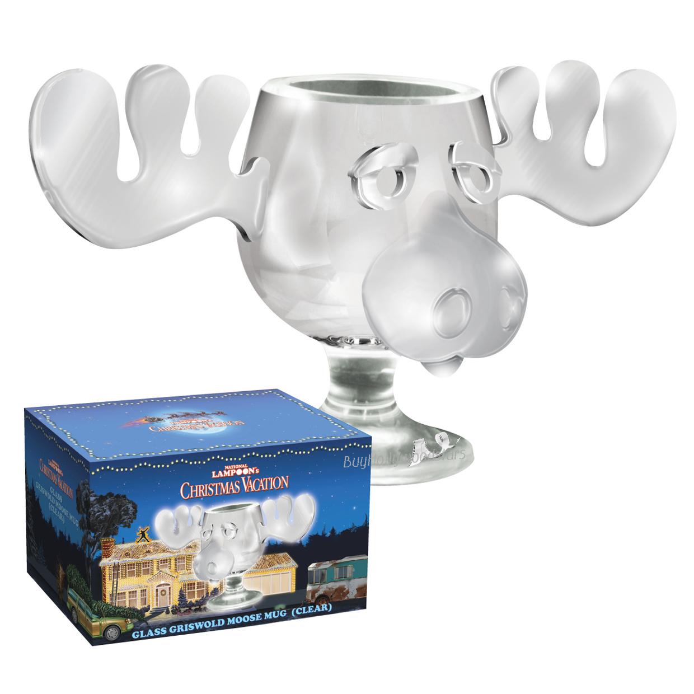 christmas vacation moose mug punch bowl set