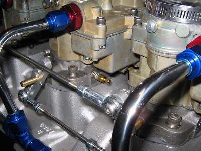 jpspecialties : TRI-POWER 3X2 EDELBROCK ROCHESTER SETUP