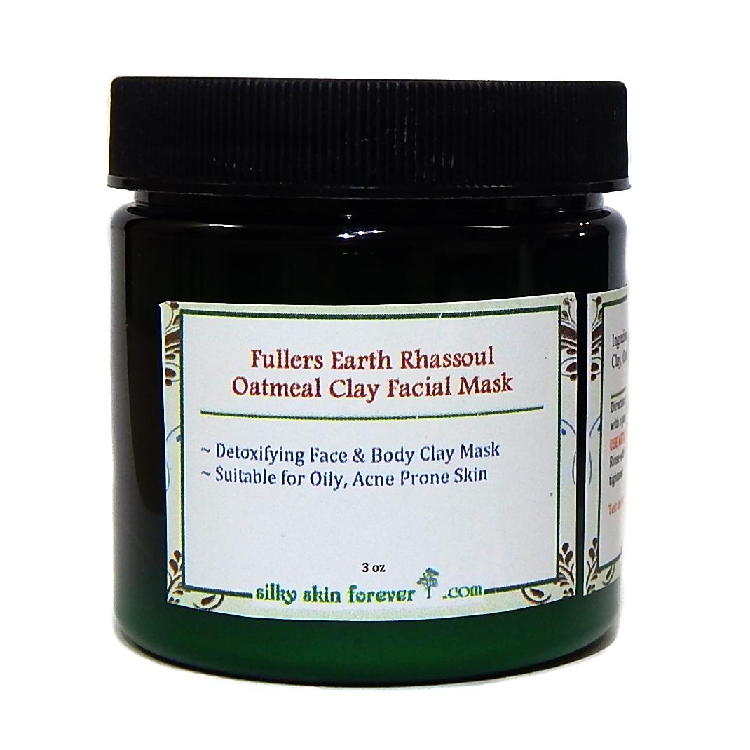 Clay earth facial fullers
