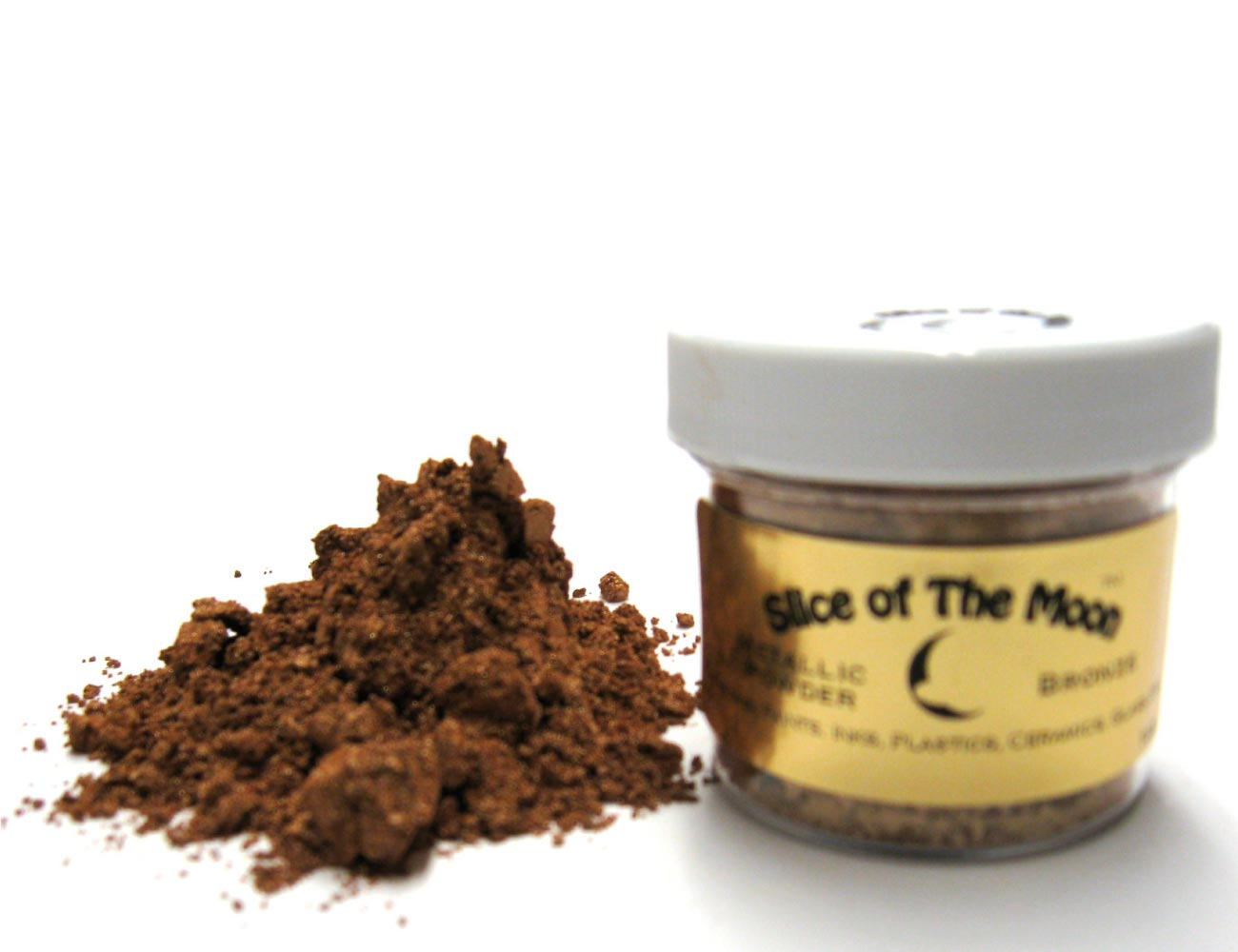 Bronze Mica Powder Cosmetic Grade Mica, Slice of