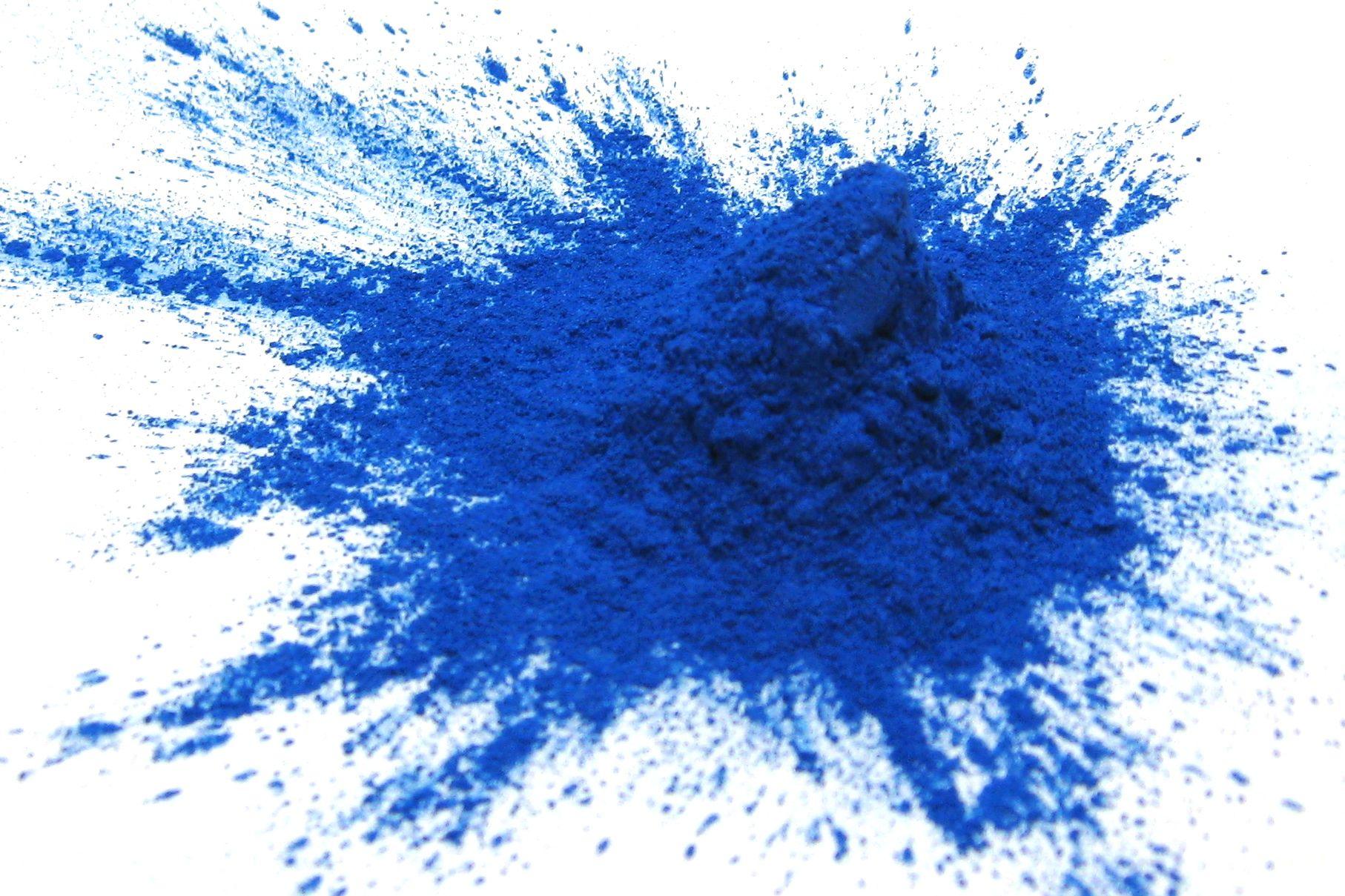 Cobalt Blue Mica Powder 1oz, Metallic Blue Powder, Cosmetic Grade Mica ...