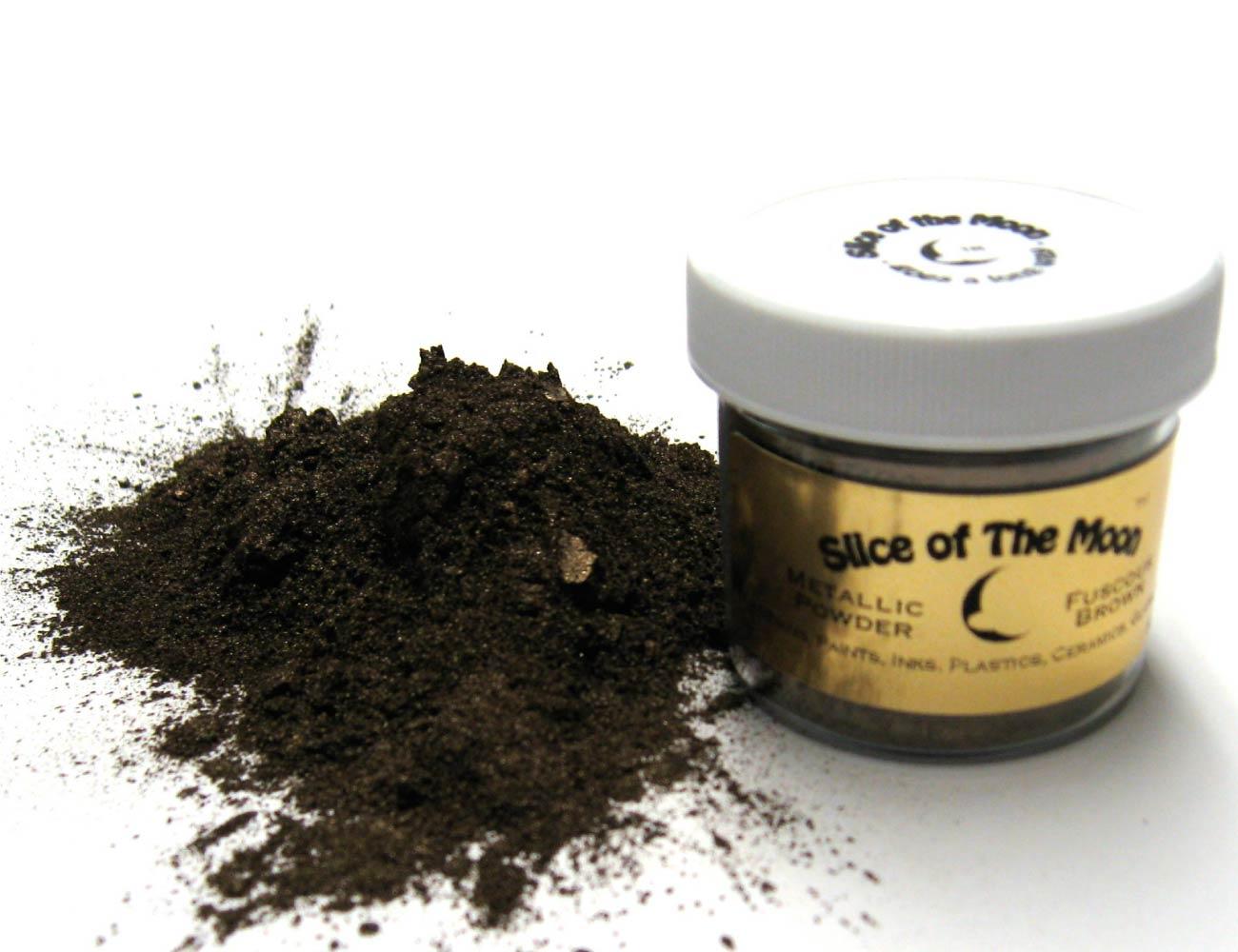 Fuscous Brown Mica Powder 1oz, Metallic Brown Powd