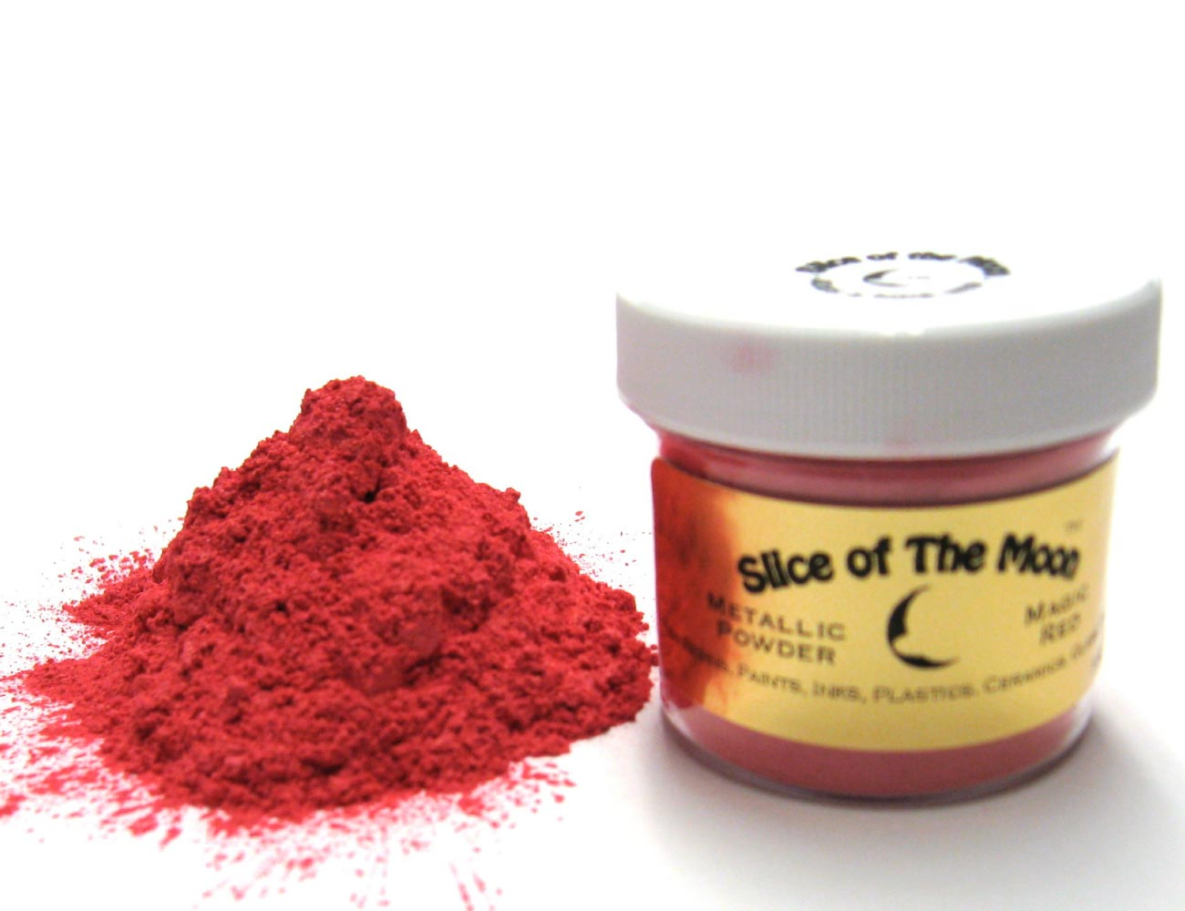 Red Mica Powder 1oz, Cosmetic Grade Mica, Slice o
