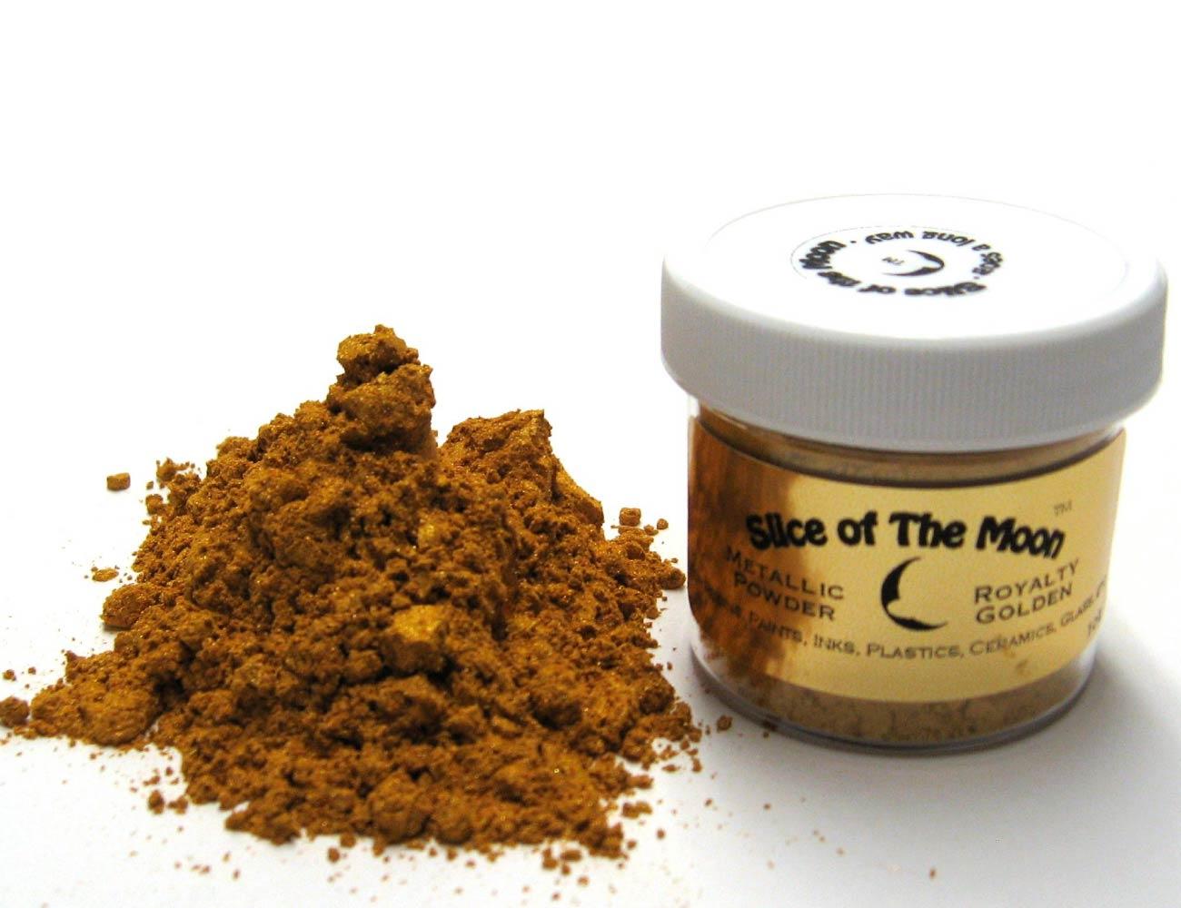 Royalty Golden Mica Powder 1oz, Gold Metallic Powd