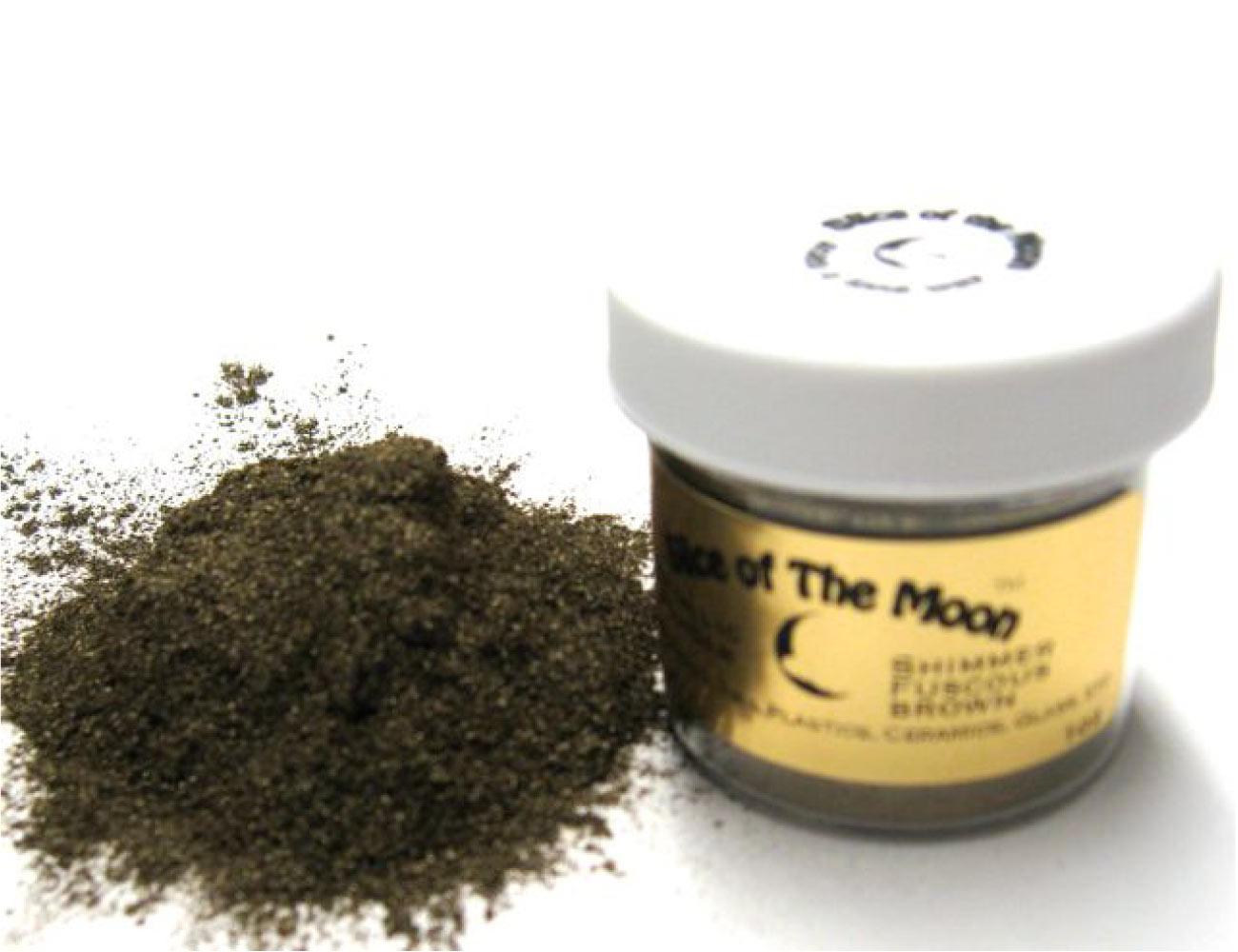 Brown Mica Powder 1oz, Cosmetic Grade Mica, Slice
