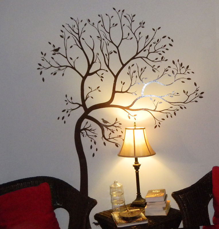 decals by digiflare large tree with bird wall decal deco