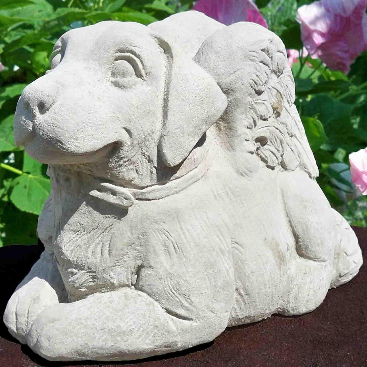 Dog angel concrete dog breeds picture - Angel statue for garden ...