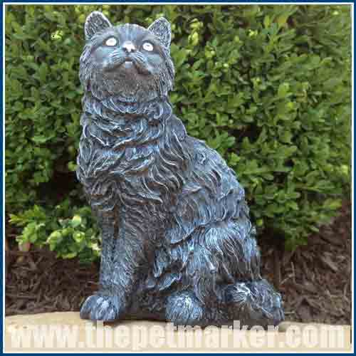 Cat Statues For The Garden. A Very Nice Variety Of Black Cat Statues.