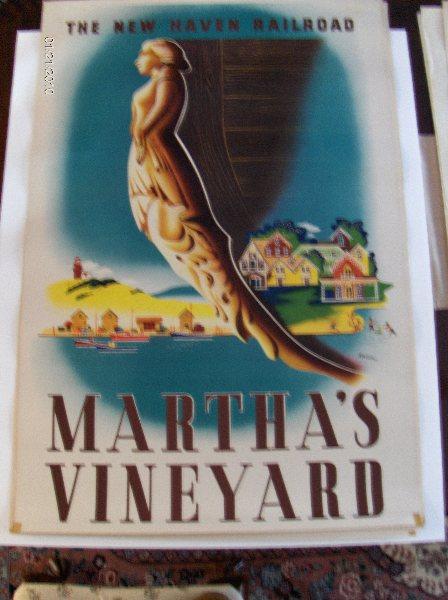 Original Vintage Ben Nason's work Martha's Vineyar