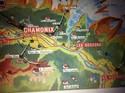 1947 Chamonix France Original Vintage Brochure Pos