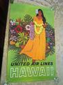 1960's Original Stan Galli Hawaii Travel Poster Un