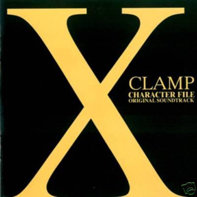 NEW CD Clamp X SOUNDTRACK CD Manga CHARACTER FILE ORIGINAL SOUNDTRACK