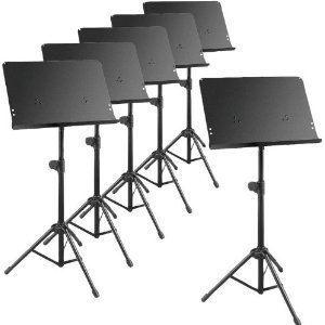 6-Pack Deluxe Music Stands