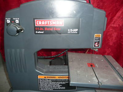 The Online Resale Shop Craftsman 11 In Band Saw 3 Wheel