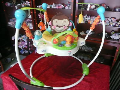 the online resale shop fisher price jumper jungle theme baby animal