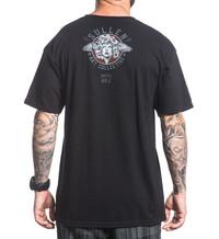 Sullen Clothing Mens Grey Kalodimas Solstice Premium T Shirt