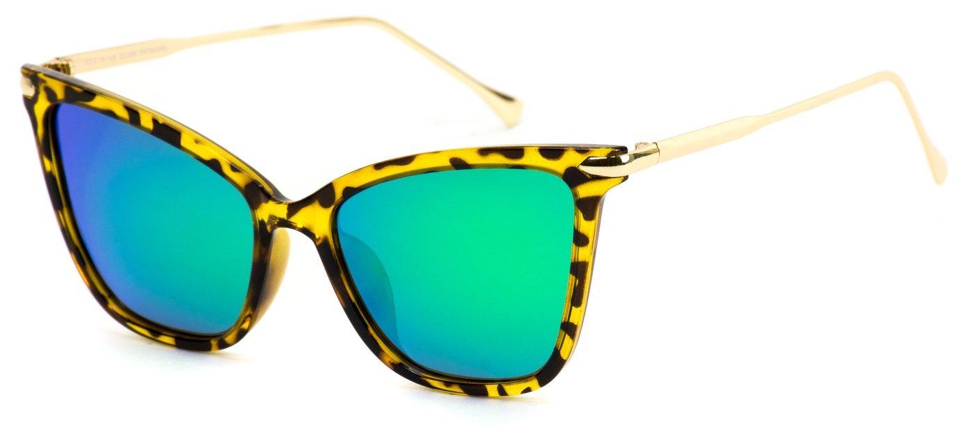 5eab0f1acae9c Wear Me Pro Fay Polarized Sunglasses- Tortoise Frame Green Lens