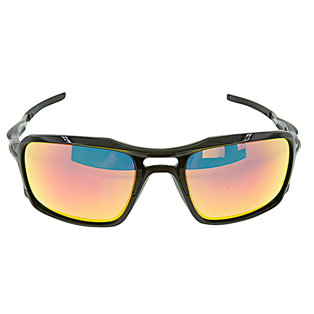11dc8725f5 Details about New Authentic Oakley Triggerman Polished Black with Ruby  Iridium Lenses 926603