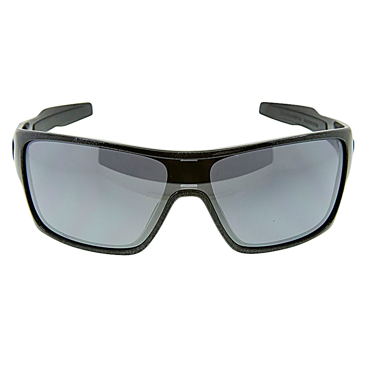 44f3d595a47 Details about New Authentic Oakley Turbine Rotor Sunglasses Black Silver Ghost  Text 930702