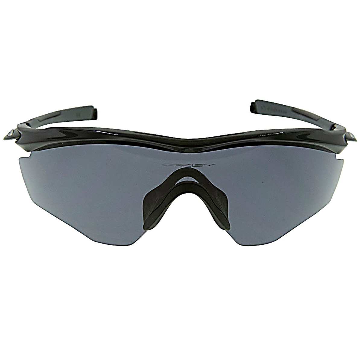 a318774d006 Details about New Authentic Oakley M2 Frame XL Sunglasses Polished Black  with Grey Lenses