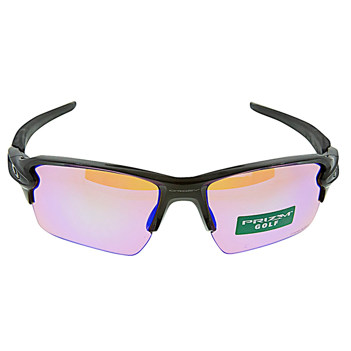 7448e464c96 Details about New Authentic Oakley Flak 2.0 XL Sunglasses Polished Black  with Prizm Golf Lens