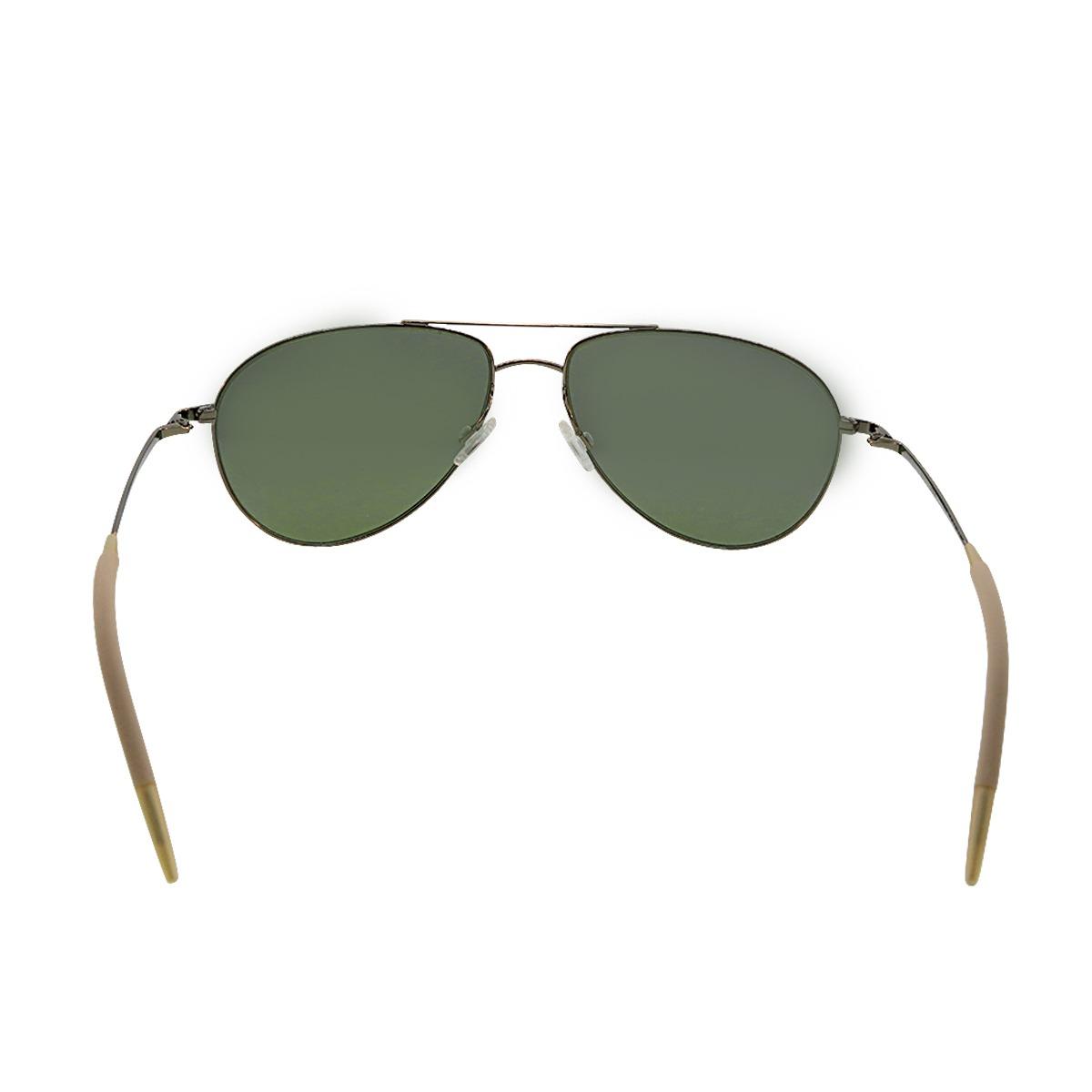 2c7361c709f Description. New Authentic Oliver Peoples OV1002 S 503957 Benedict Antique  Gold Jade Sunglasses