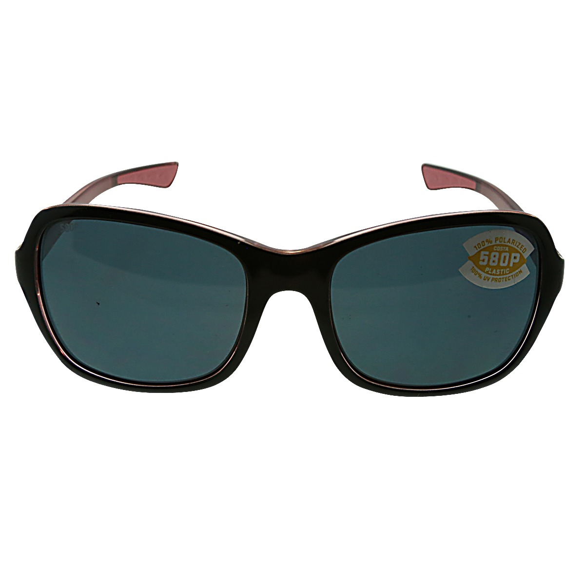 f91ed501c7e New Costa Del Mar Sunglasses KARE Black Hibiscus Gray 97963555050