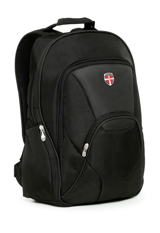 Ellehammer Deluxe Backpack Laptop Bag In Black Copenhagen