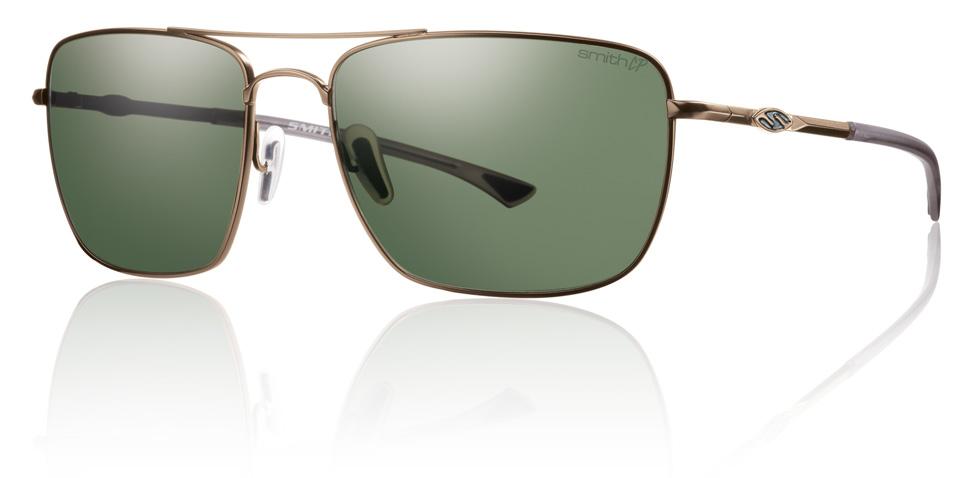 Polaroid Gold Frame Sunglasses : Smith Optics Nomad Sunglasses Matte Gold Frame Polarized ...