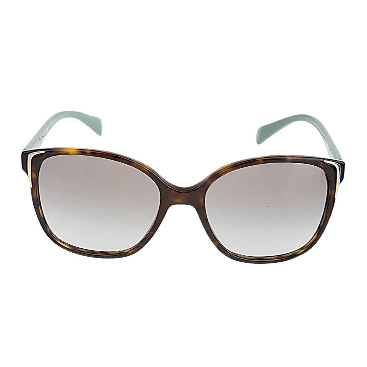 3704239f1ade Authentic New Ladies Prada SPR 01 OS 2AU1E0 HAVANA Green Gradient Sunglasses  - MSRP  255