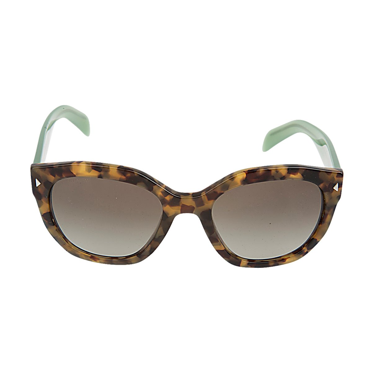 5e4773e74e258 Details about New Authentic Women s Prada SPR12S UEZ4K1 Havana Green Grey  Gradient Sunglasses