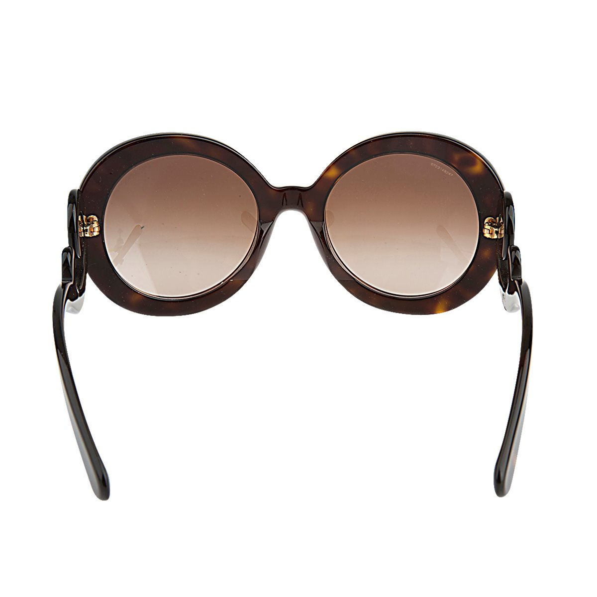 c721cc66ae99 Authentic NEW PRADA Baroque Round Swirl Oversized PR27NS Brown Havana  Gradient